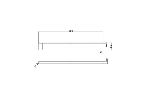 Towel Rail Specifications