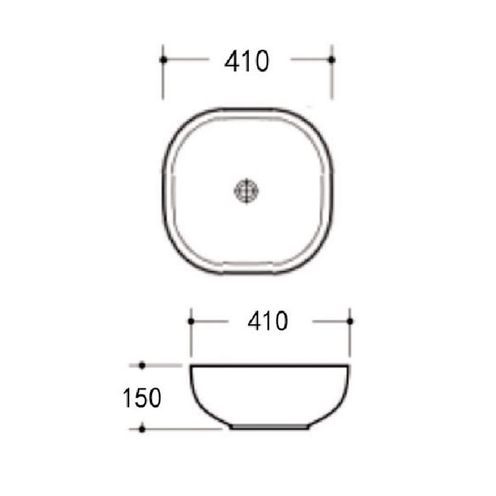 Cascata Abouve Counter Basin IV K310 Spec