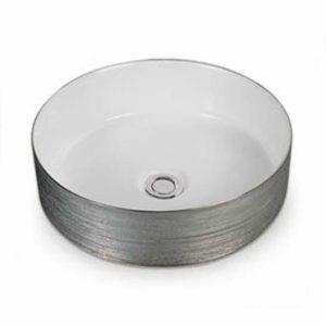 Venice Above Counter Basin - Silky Silver
