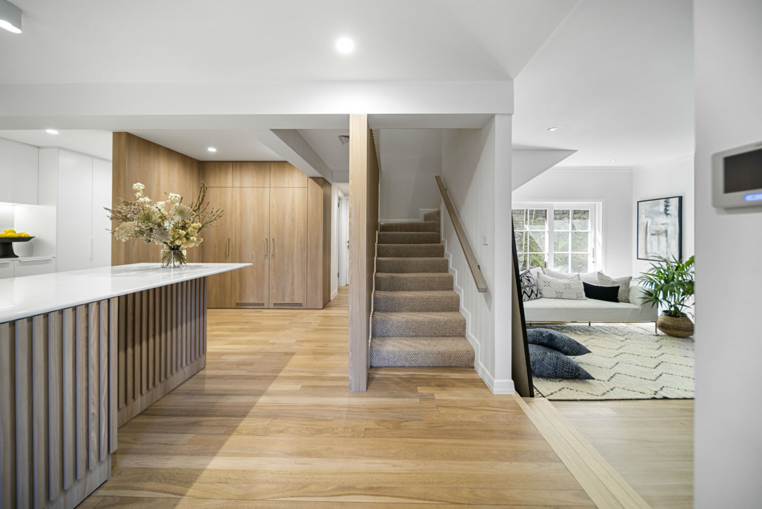 Carrera By Design - Kitchen and Stairs